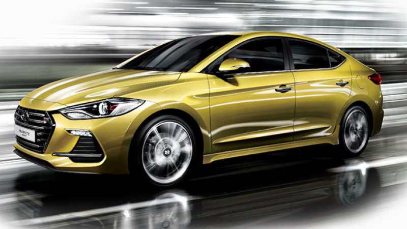 Hyundai Elantra Sport Likely To Get 201 Hp, Optional Manual
