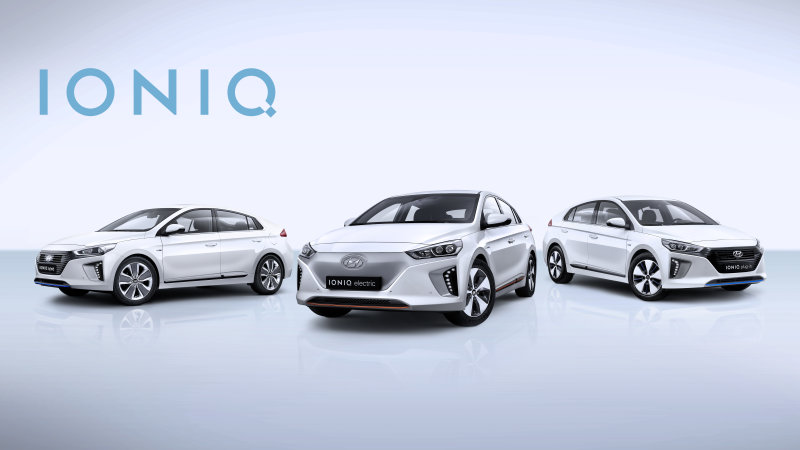 Hyundai Ioniq Model Lineup Shown Ahead Of Geneva Debut