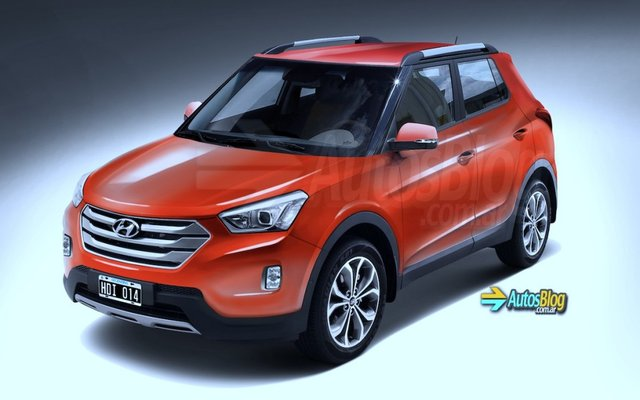 Here Is Another Rendering Of Hyundai's EcoSport Rivaling Compact SUV