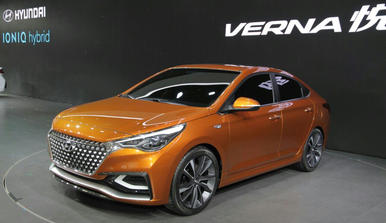 Next-Gen 2017 Hyundai Verna's Wheelbase Measures 2,600MM