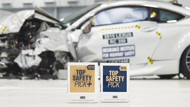 Vehicles Awarded IIHS Top Safety Pick Awards Skyrockets for 2015