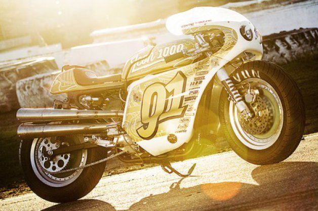 Icon Builds 'Iron Lung' Harley Davidson Sportster