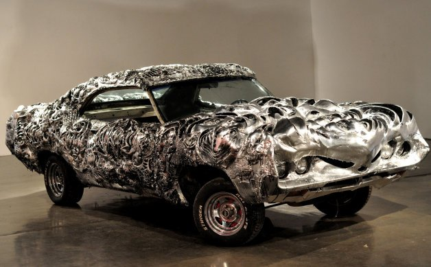This Is What A 3D-Printed Liquid Metal Ford Torino Looks Like