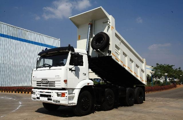 India-Made Kamaz Trucks to be Exported to Asian and African Countries