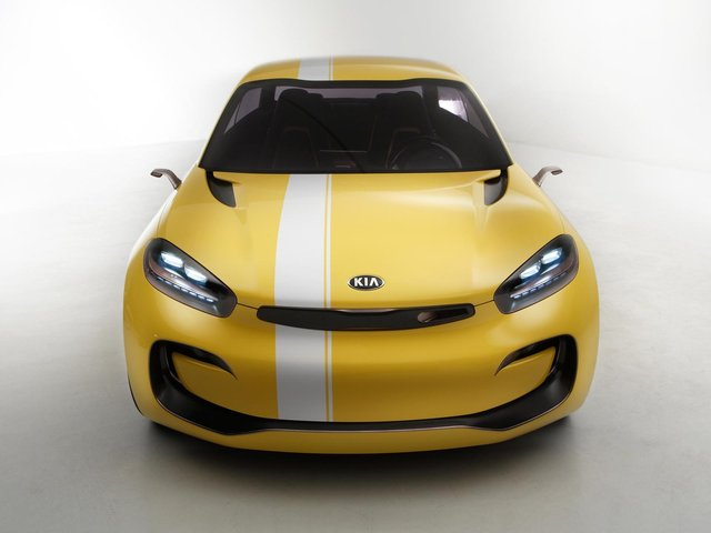 Sub-4m Kia CUB Concept is a Four-Door Coupe with Suicide Doors