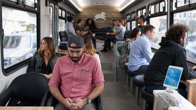 Leap Brings Startup Culture to San Francisco Buses