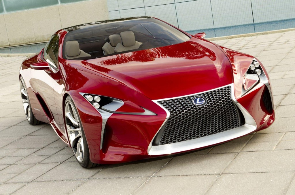 Lexus LC 500 Coupe Reportedly Coming to Detroit Auto Show