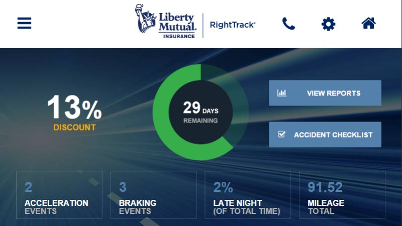 Subaru Pairs with Liberty Mutual for Built-in Driving Monitor App