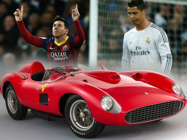 Did Lionel Messi Beat Ronaldo to the World's Most Expensive Ferrari?