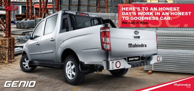 Mahindra Genio Pickup Launched in South Africa