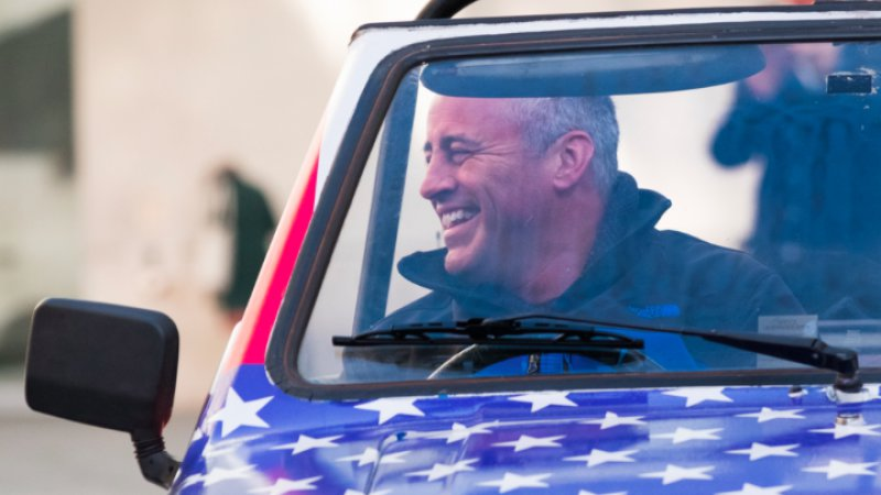 Watch Top Gear Host Matt LeBlanc Drive a Topless Reliant Robin