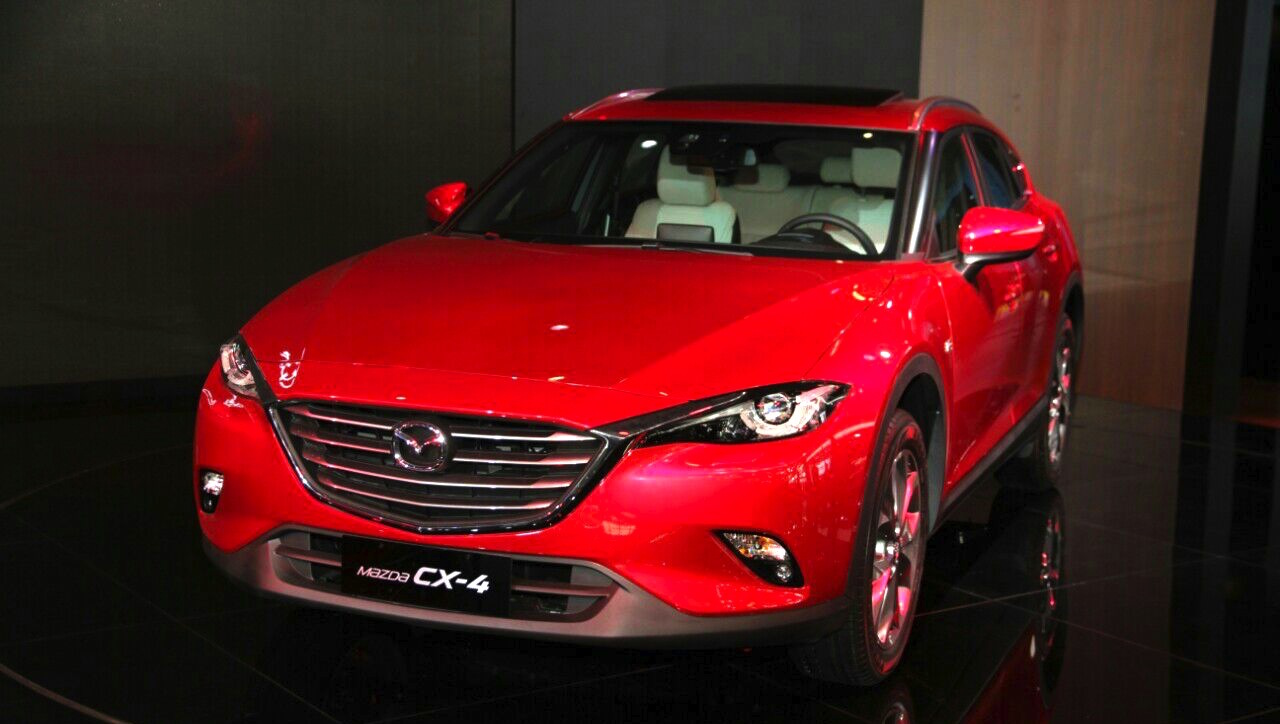Mazda's Slick New CX-4 Crossover Is Sadly Only For China