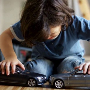 Mercedes Trolls Kids With Uncrashable Toy Cars