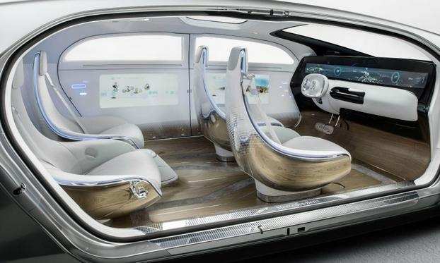 The Mercedes F 015 Luxury in Motion research car highlights the automaker's vision