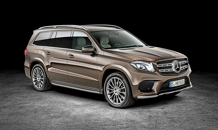 Mercedes SUV Gets a New Name and a Fresh Look
