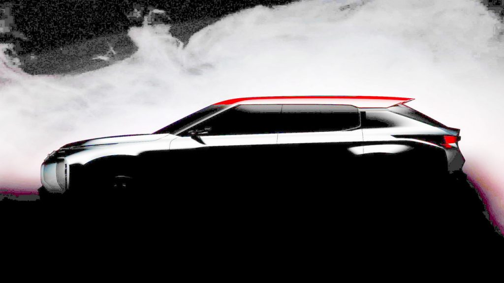 Mitsubishi Grand Tourer SUV Teased For Paris Motor Show