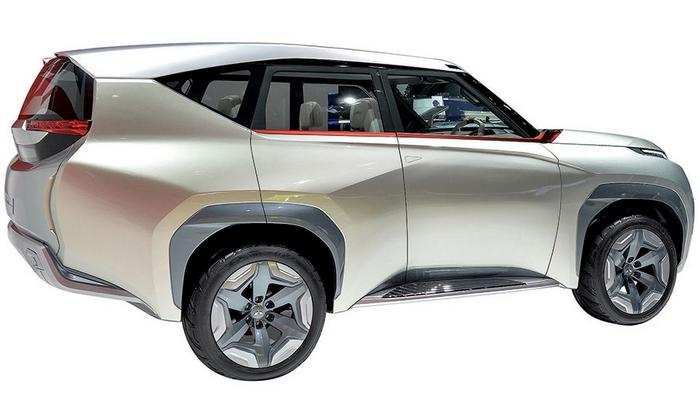 The Mitsubishi GC-PHEV concept hints at the next-gen Montero.