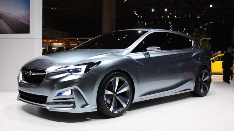 New Subaru Impreza Coming for 2017, Previewed by This Concept