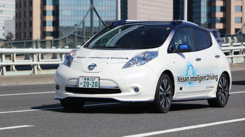 Renault-Nissan Promises 10 Autonomous Models Through 2020