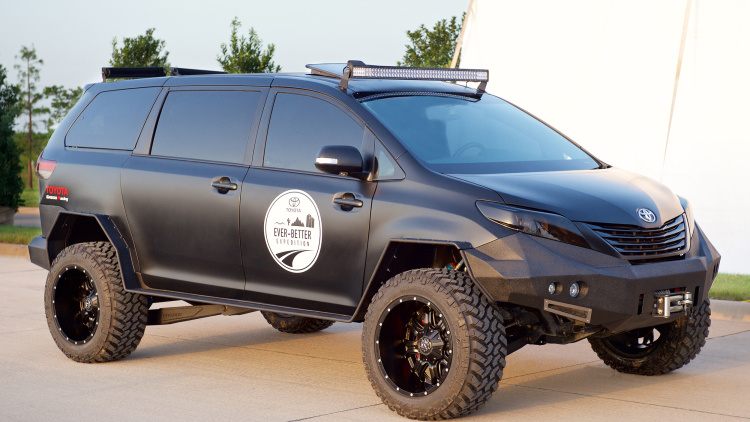 Toyota Creates Awesome Off-Road Sienna