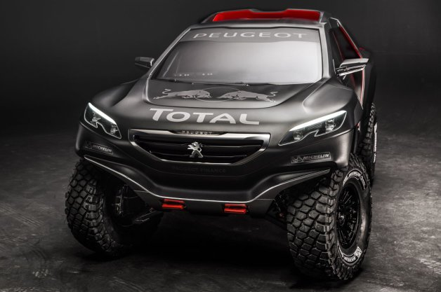 Peugeot 2008 DKR to Challenge Dakar With Help from Red Bull