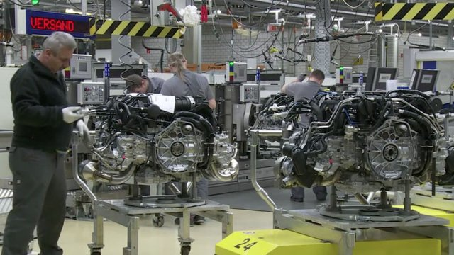 Revel in the Glory of the Porsche 911 Engine Factory