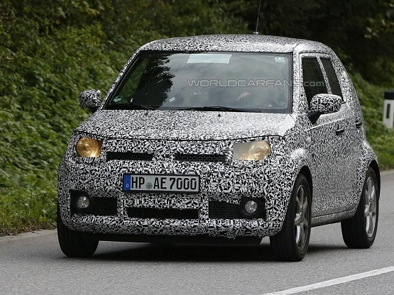 Production Suzuki iM-4 Mini SUV Spied Testing for the First Time