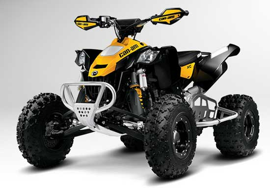 Quad Can-am : Sensations fortes garanties