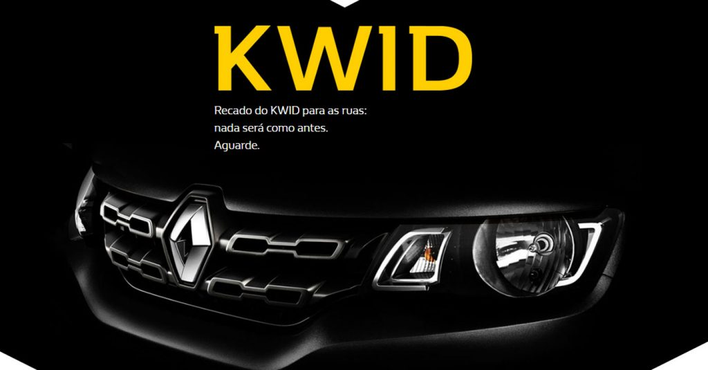 Renault Brazil Drops First Teaser Of Renault Kwid