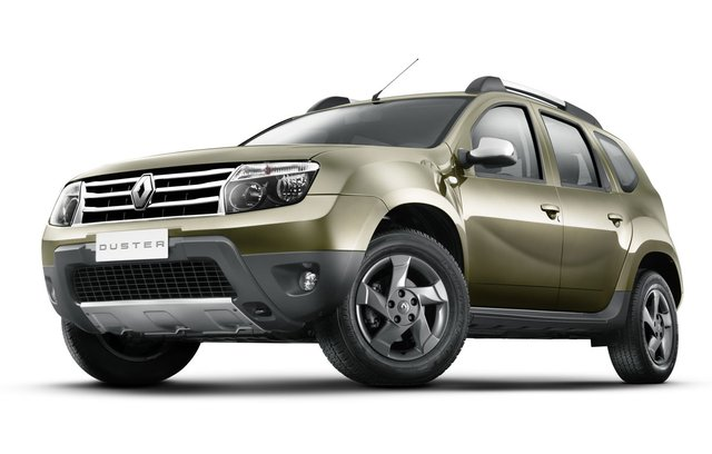 India-bound Renault Duster breaks cover
