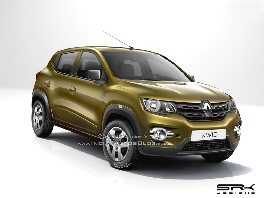 Renault Kwid to Enter Production in September 2016