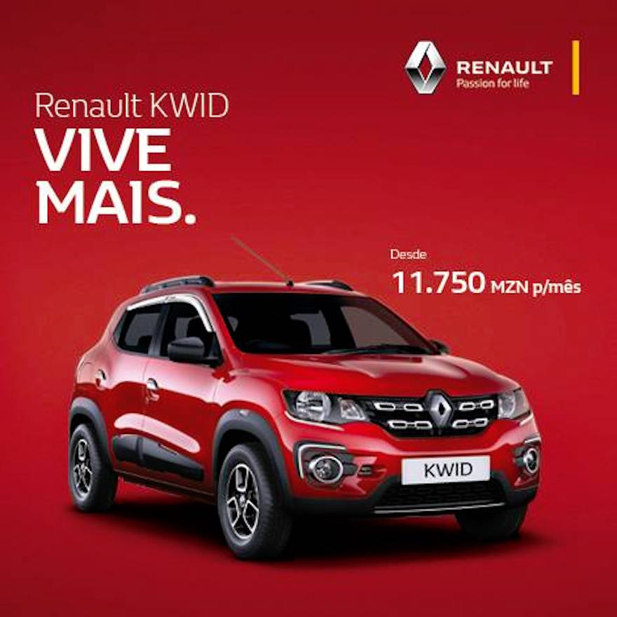 India-Made Renault Kwid Launched In Mozambique