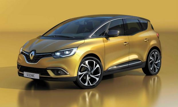Renault Makes The New Scenic 'Sexier'