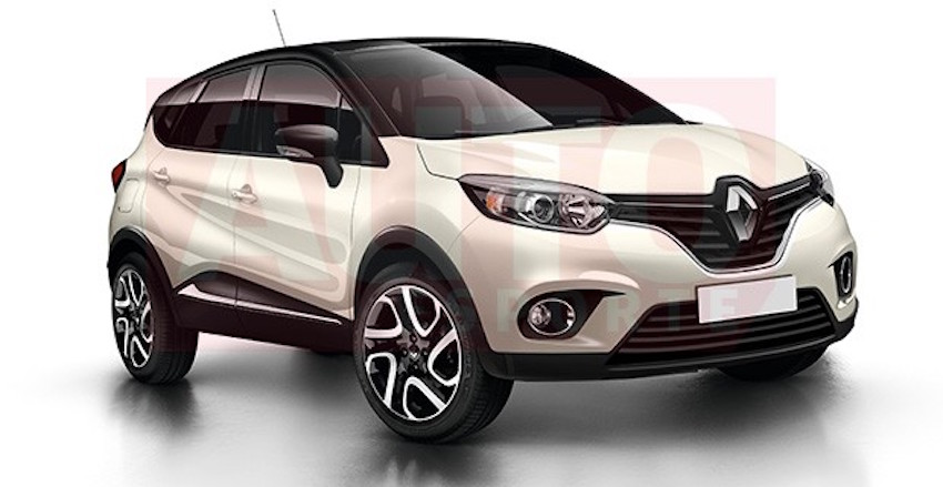 Auto Esporte has worked on a render of the upcoming Renault Grand Captur (name unconfirmed)