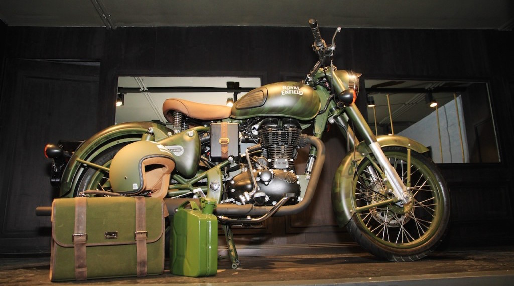Royal Enfield Classic 500 Limited Edition Battle Green