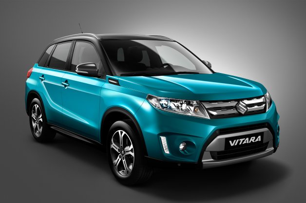 Suzuki Vitara Shows its Face Ahead of Paris Debut