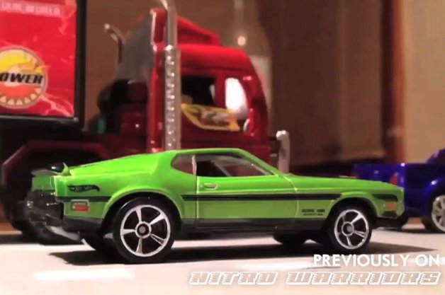 Afterburner Mini Movie With Hot Wheels Is A Mad, Mad World