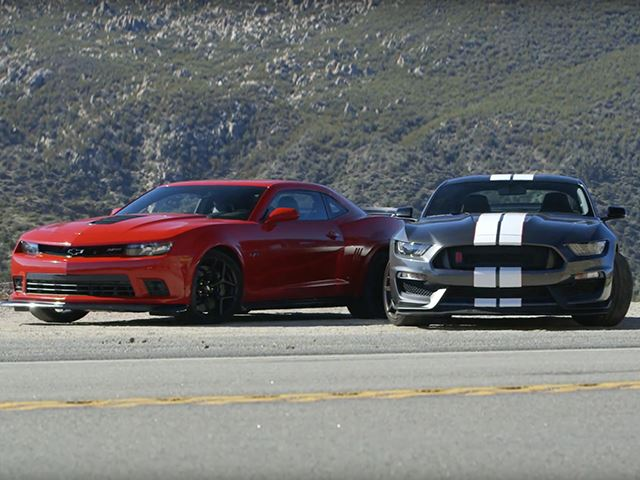 Shelby GT350R Vs. Camaro Z/28: The Muscle Car Battle You've Secretly Wanted