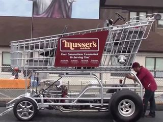 Small Block Shopping Cart Is Faster than Your Ride