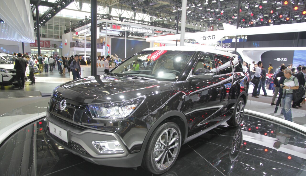 SsangYong XLV – Auto China 2016