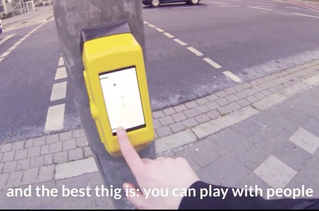Streetpong is the Cure for Pedestrian Boredom