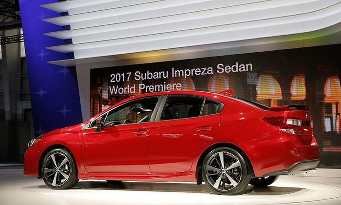 Subaru Stuffs Bigger 2017 Impreza With Tech, Safety Gear