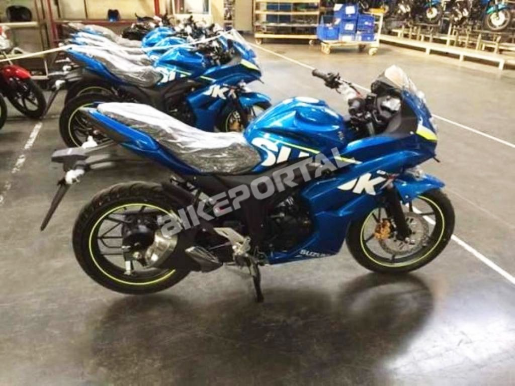 Fully-Faired 'Suzuki Gixxer SF' Spotted