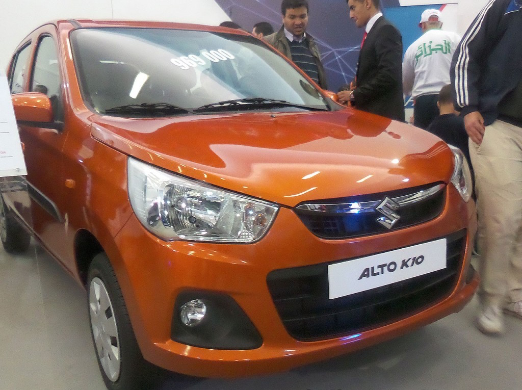 India-made Suzuki Alto 800, K10 with dual airbags, ABS launched in Algeria