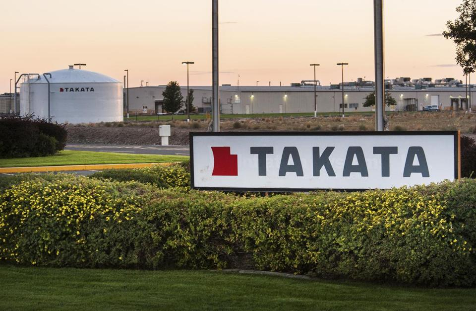 Takata Reports More Bad News as Sales Decline