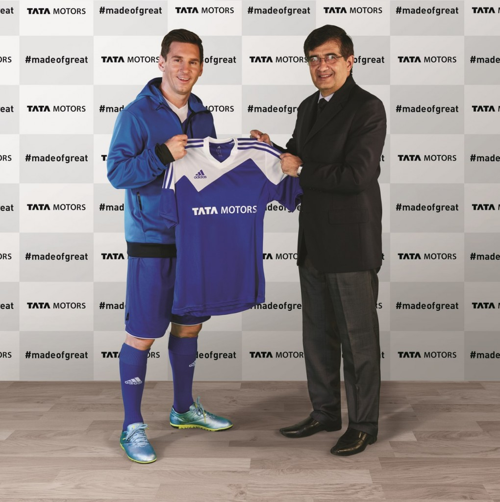 Tata Motors Appoints Lionel Messi as Global Brand Ambassador