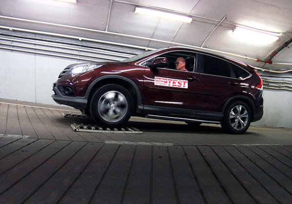 2015 Honda CR-V Performs Poorly in Swedish AWD Test
