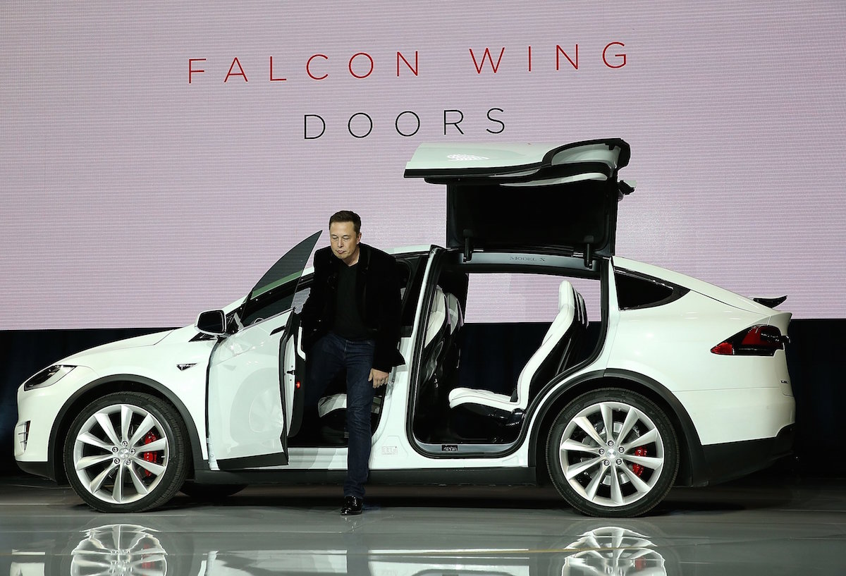 Tesla Launches Model X SUV