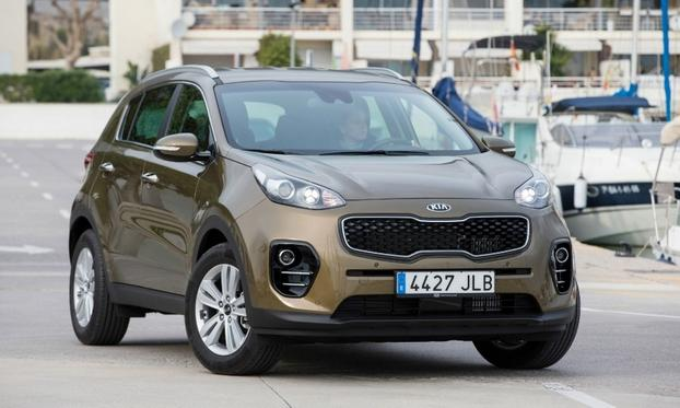 The Kia Sportage GT