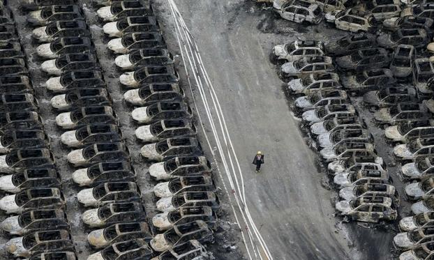 Jaguar Land Rover Assesses Damage to Vehicles Caught in Blasts at China Port